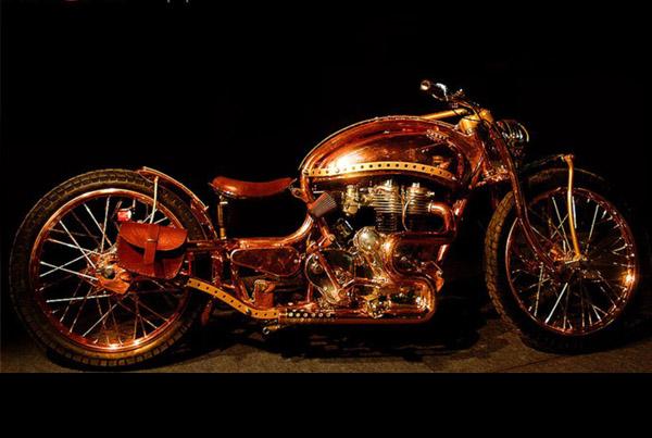 Sieger copper bike